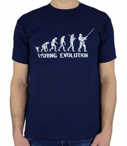 Funny Fishing Evolution T-shirt