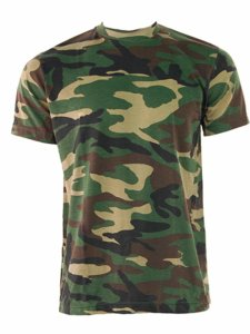 Men's Game Camouflage Fishing T-shirt