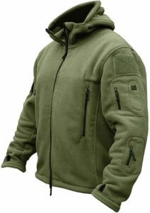 Windproof Mens Fishing Fleece