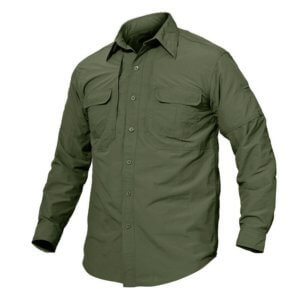TACVASEN Quick Dry UV Protection Long Sleeve Shirt